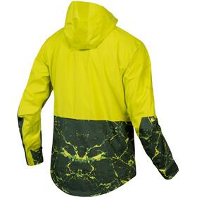 Endura SingleTrack Kurtka Mężczyźni, żółty/oliwkowy